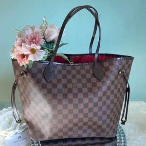 🤎 Louis Vuitton 🤎 Neverfull Ebene MM Tote Bag